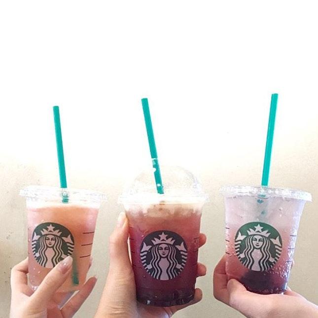 Starbucks Fizzio Drinks
