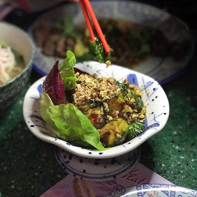 Spicy Brussel Sprouts ($14)