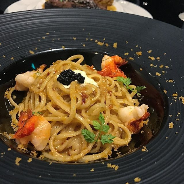 Linguine Lobster (+$15 for $23++/$28++ set courses, only available for dinner)
