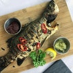 Charcoal-grilled Sea Bass