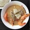 Seafood Soup ($6)