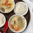 Seafood Soup - Dory ($8)