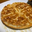 Waffles (with Honey)