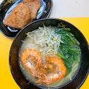 Prawn Noodles ($9.90)