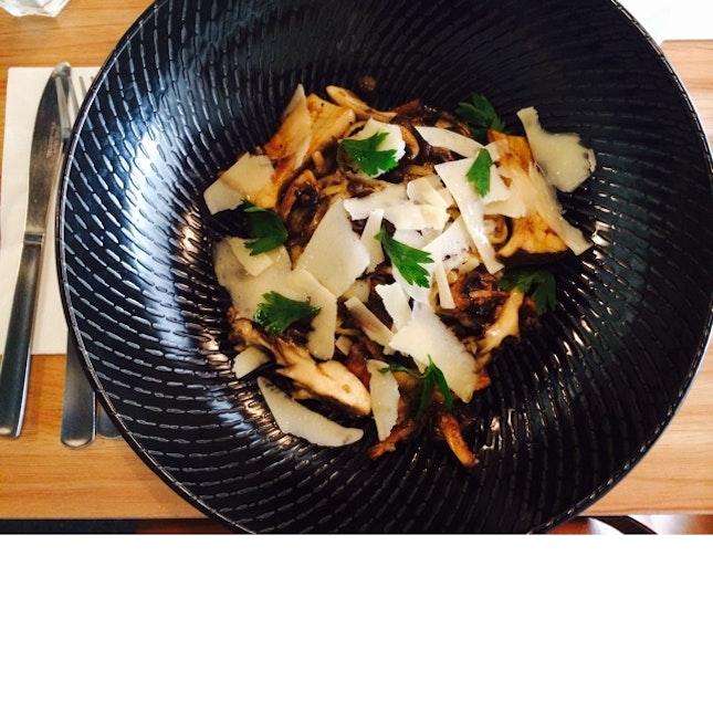 G.S Mushroom Linguine