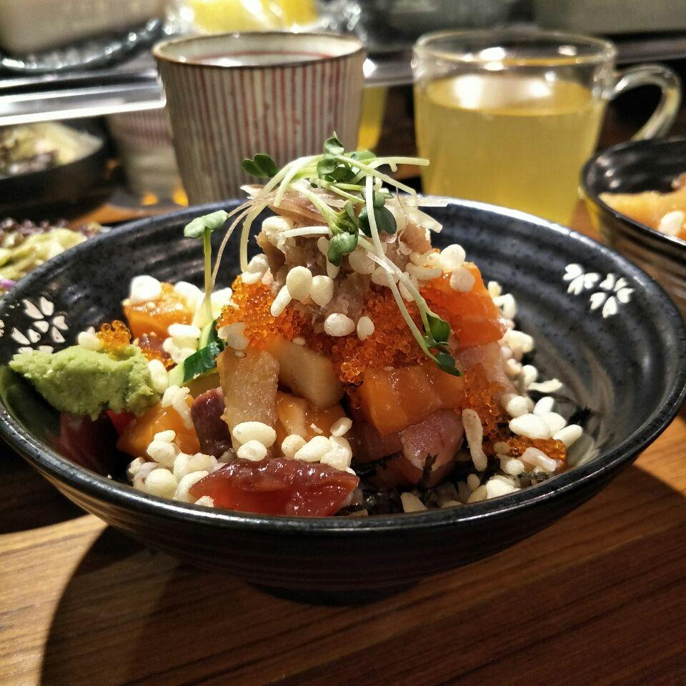 Sashimi Bowl ($19++)