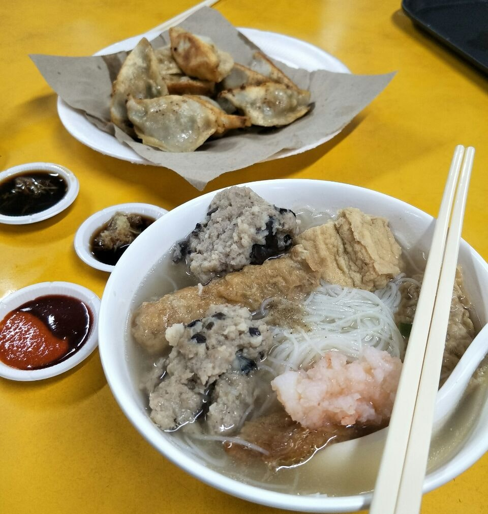 Yong Tau Foo With Bee Hoon Soup ($5)