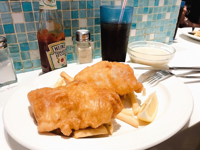 Beer Battered Fish And Chips ($11.90)