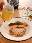 Salmon Ochazuke ($16++)