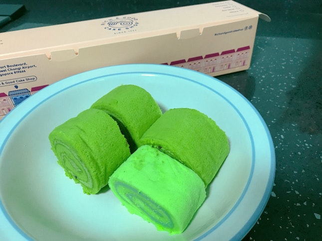 Kaya And Matcha Swiss Roll