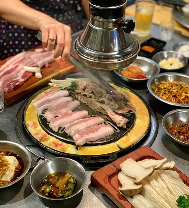 One of my favourite korean bbq restaurant in Singapore!