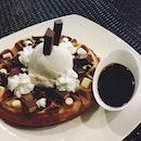 Choco Fudge Waffle