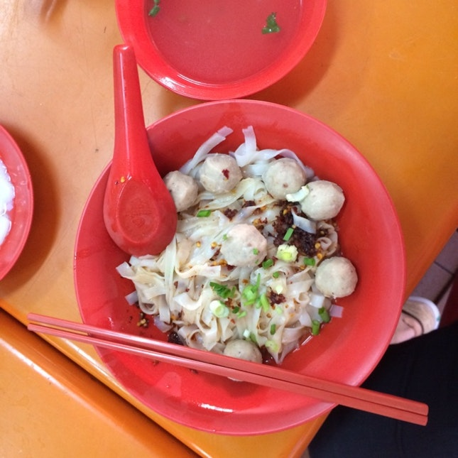 """For A Fishball Noodles Of A """"Singaporean"""" Taste In The East (Ubi)"""