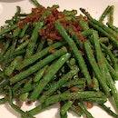 Stir Fried French Beans with Dried Shrimp 香辣虾米四季豆