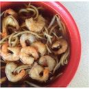 Prawn Noodles $3/$4/$5