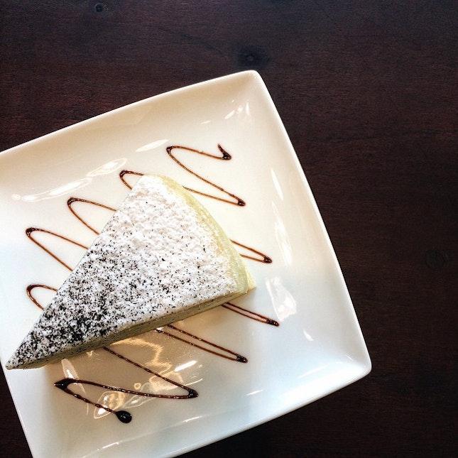 Earl Grey Mille Crepe Cake $6.50