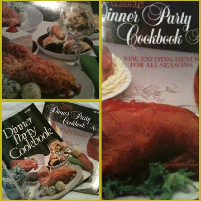 Gotta love the old '80's' Dinner Party  by Penny White
