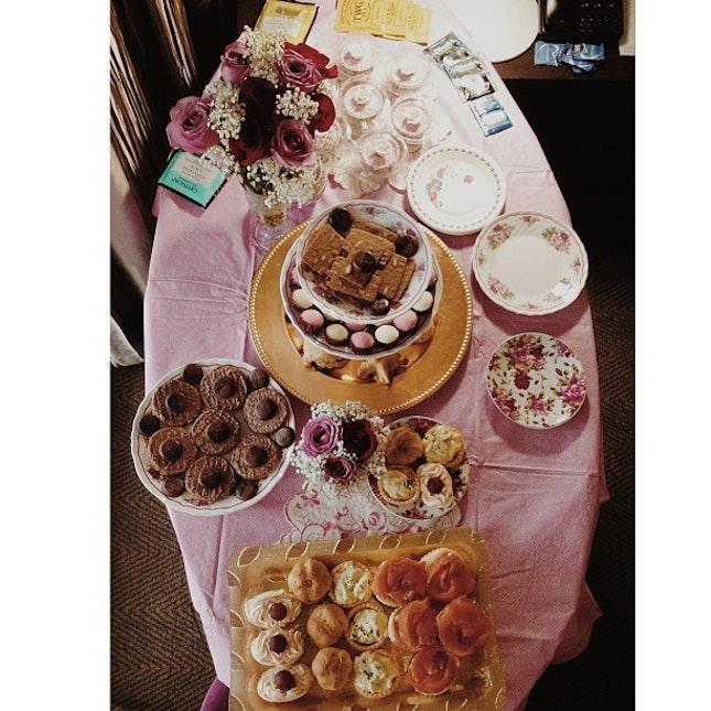 #happy #birthday #food #party #surprise #love #english #tea love u @hasiflee!