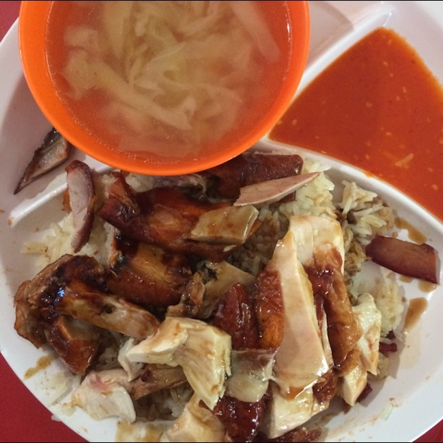 Duck And Chicken Rice