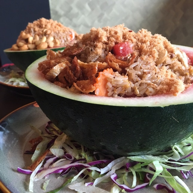 Watermelon Fried Rice