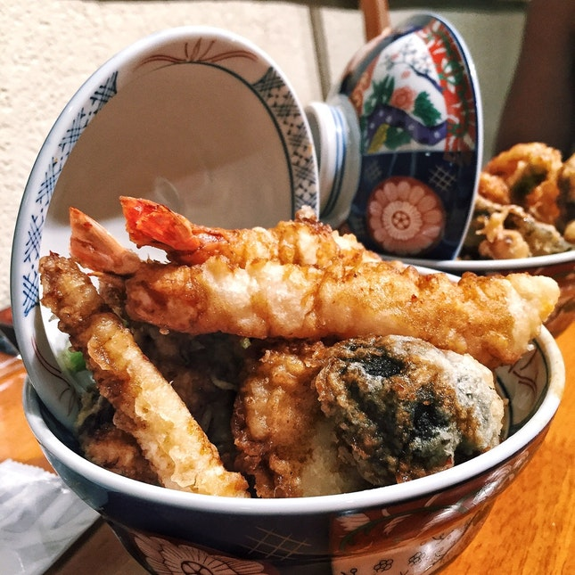 Kohaku Tendon Spicy Flavor ($15)