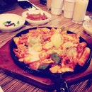 Cheese haemul tuckbbokgi for dinner #korean #food #igers #photooftheday #yum