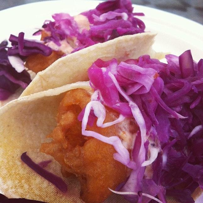 Dish 3 - Fish tacos