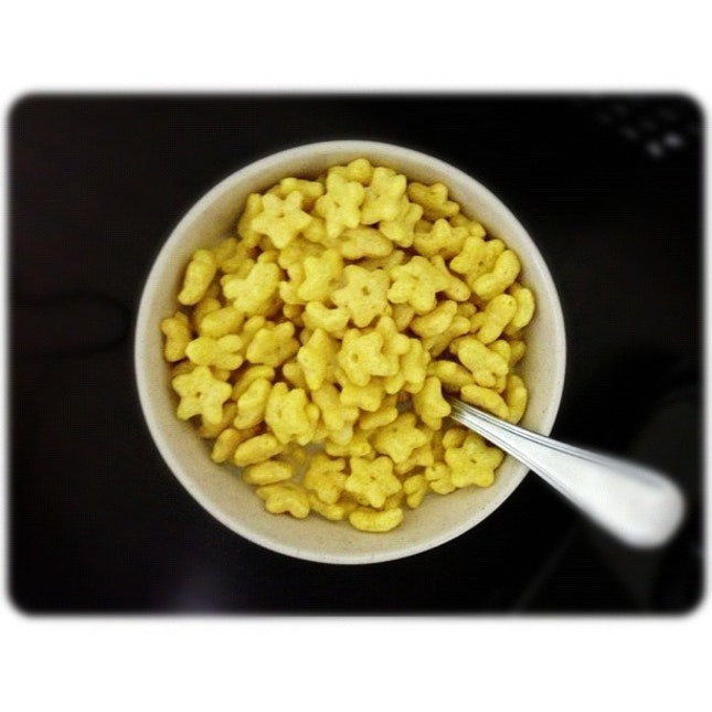 Fav #breakfast 🌟 #honeystar #cereal