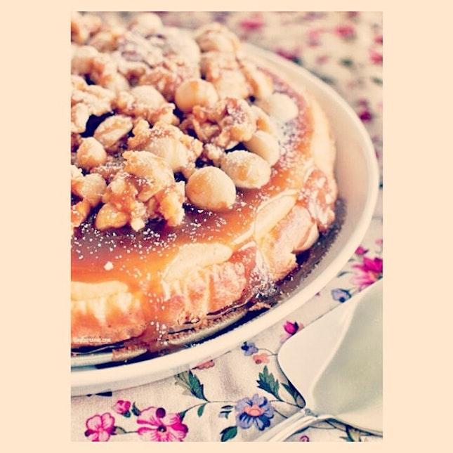 Caramel Cheesecake.