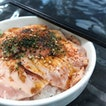 Salmon Mentai Don (S Size, $11)