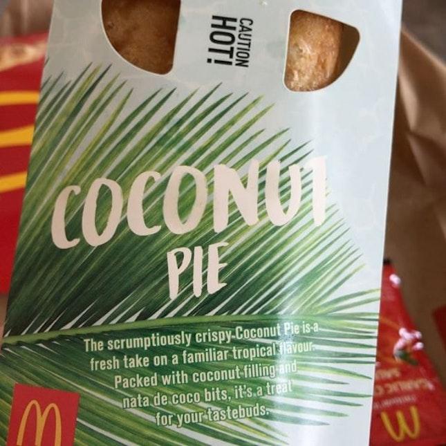Coconut Pie.