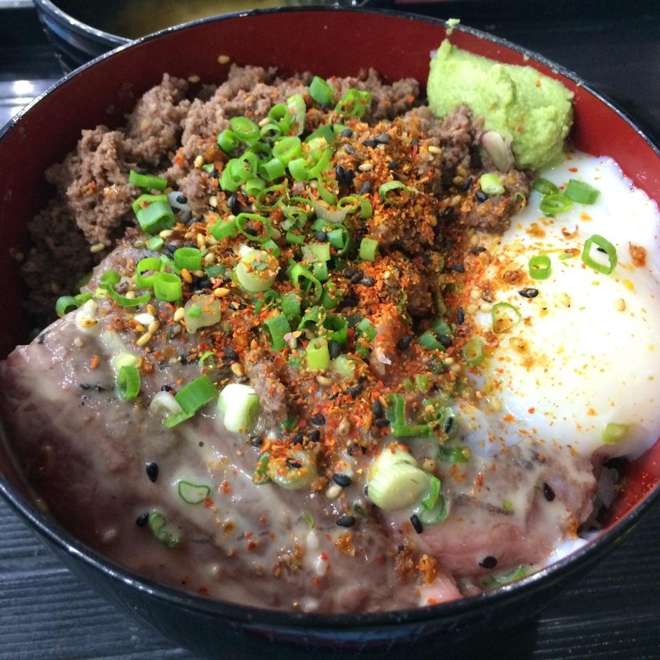 Truffle Wagyu Donburi ($16)