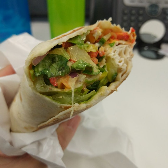 MealPal #7/18: Chicken Tikka Wrap