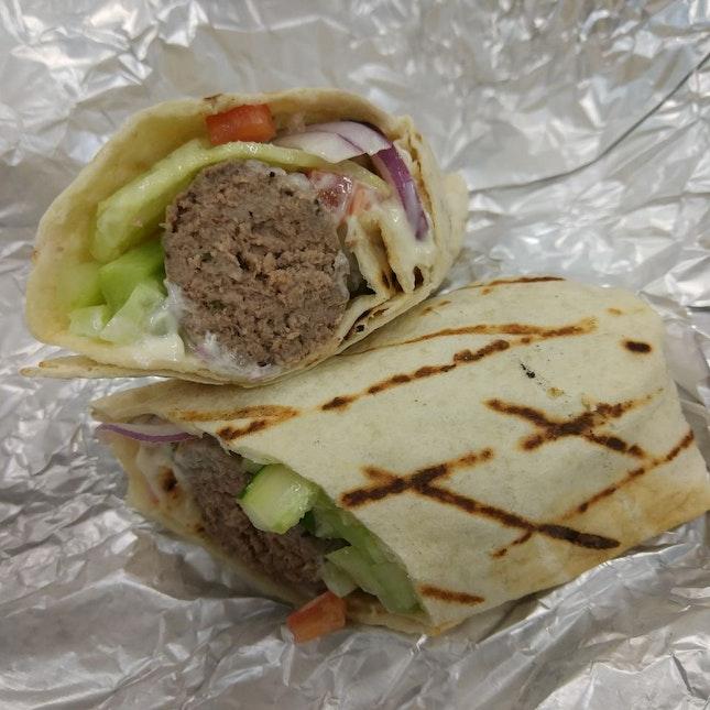 MealPal #8/18: Greek Wrap
