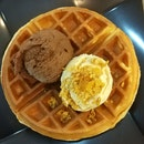 Waffle With Two Scoops (from $10.20)