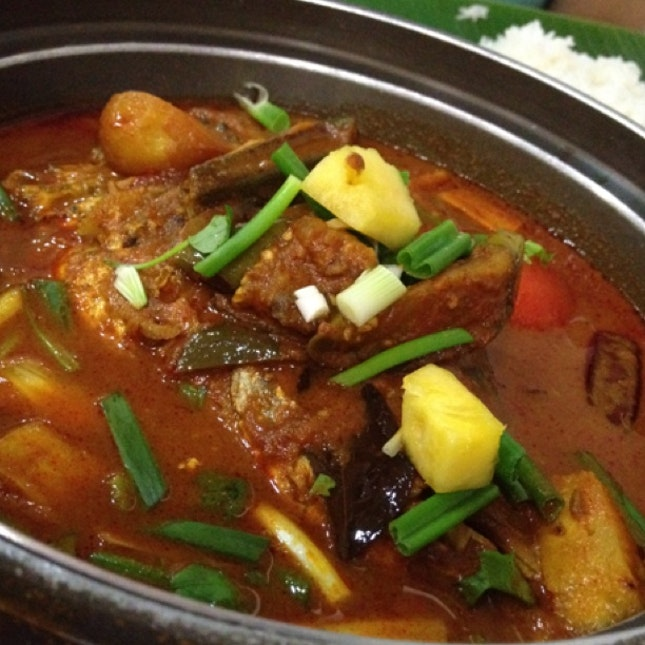 Fish Head Curry - Indian Style