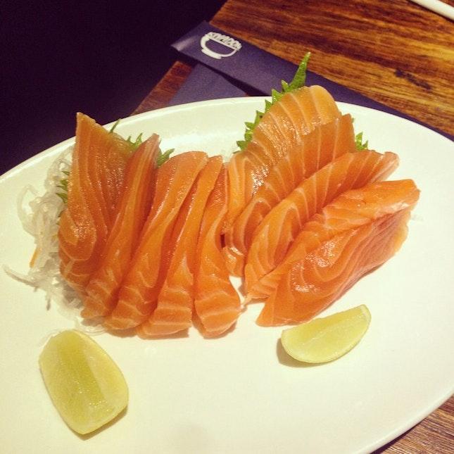 Salmon Sashimi #food