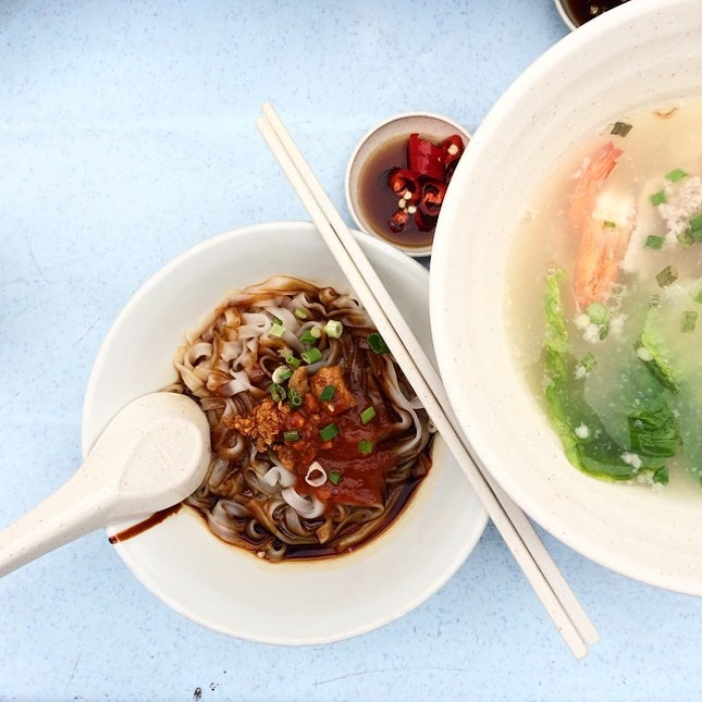 Abalone Kway Teow mee!