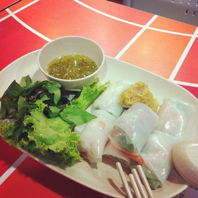 #thai Spring Roll #foodporn