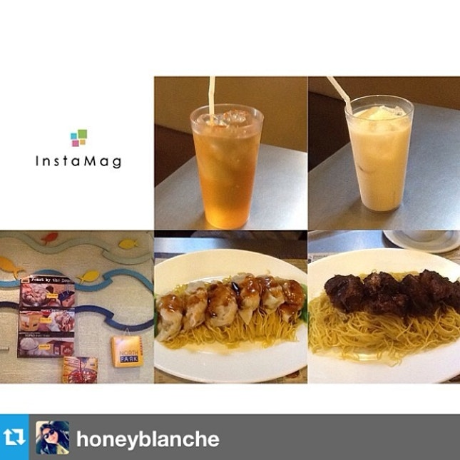 #Repost from @honeyblanche with @repostapp#laterepost--- #breakfast #chinesefood 🍜 with @hazelbeverly08