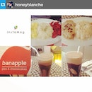 #Repost from @honeyblanche with @repostapp --- #breakfast with @hazelbeverly08 🍳☕️