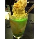 Chendol dessert