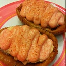 Salmon Mentai Inari
