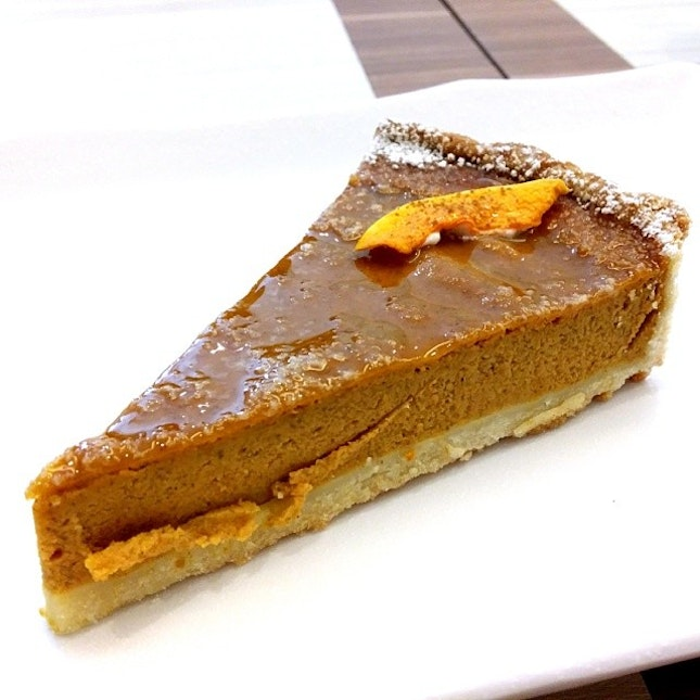 Pumpkin Pie, the Easter Day special!
