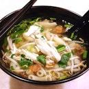 Macaroni Soup for dinner!