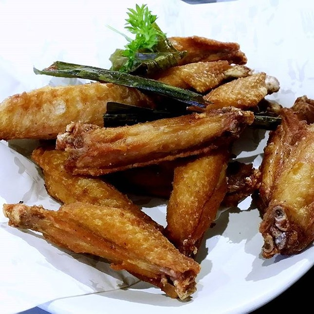 The crispy, forever yummy chicken wings.
