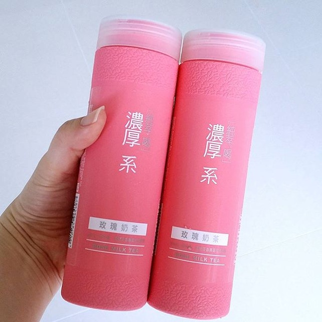 Rose Milk Tea, good for the hot weather.