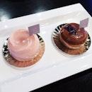 La Rose + Thai Tea Tart