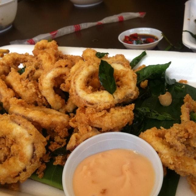 Fried calamari @ East Coast