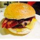 Double Cheese & Bacon Burger